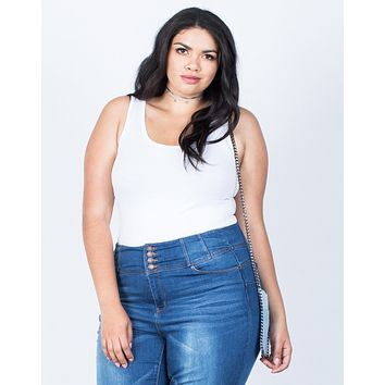 Plus Size So Comfy Basic Tank