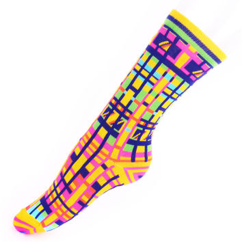 Mondorian Tribe Socks