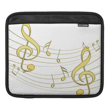 Musical Sleeve For iPads