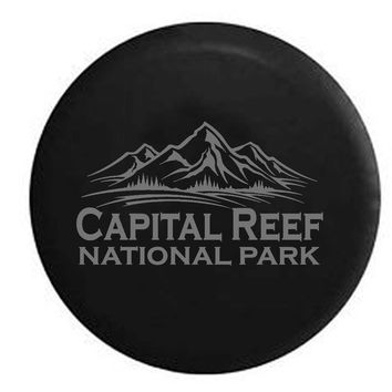 Capital Reef National Park Utah RV Camper Jeep Spare Tire Cover