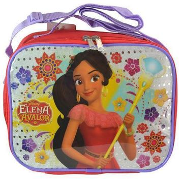 Disney Princess Elena of Avalor Soft Insulated Lunch kit bag