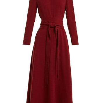 Tie-waist voile midi dress | Cefinn | MATCHESFASHION.COM UK