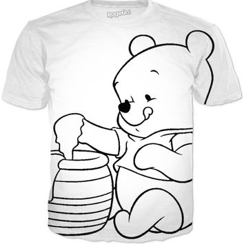 Winnie The Pooh Coloring Shirt