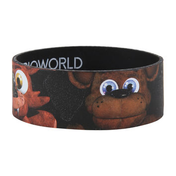 Five Nights At Freddy's Characters Rubber Bracelet