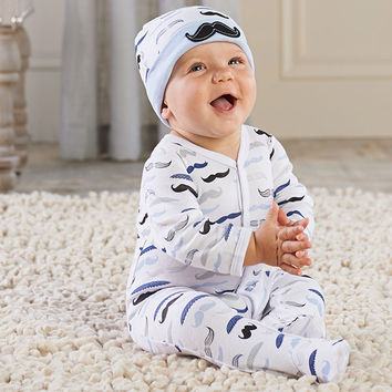 "Baby Aspen ""Little Man"" Pajama Gift Set"