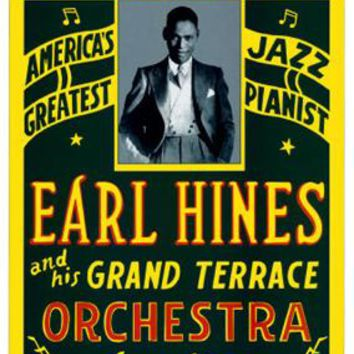 Earl Hines: Pearl Theatre Philadelphia 1929 Unknown Art Print