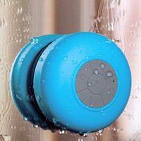 Waterproof Portable Bluetooth Speaker with Suction Cup
