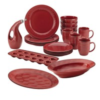 Rachael Ray Cucina 20-pc. Dinnerware Set (Red)