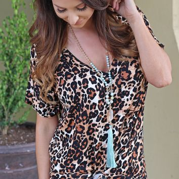The Everyday Tee - Leopard