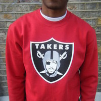 Lo Key — Ice Cubes Takers Sweatshirt Raiders