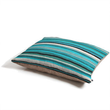 Viviana Gonzalez Painting Stripes 01 Pet Bed