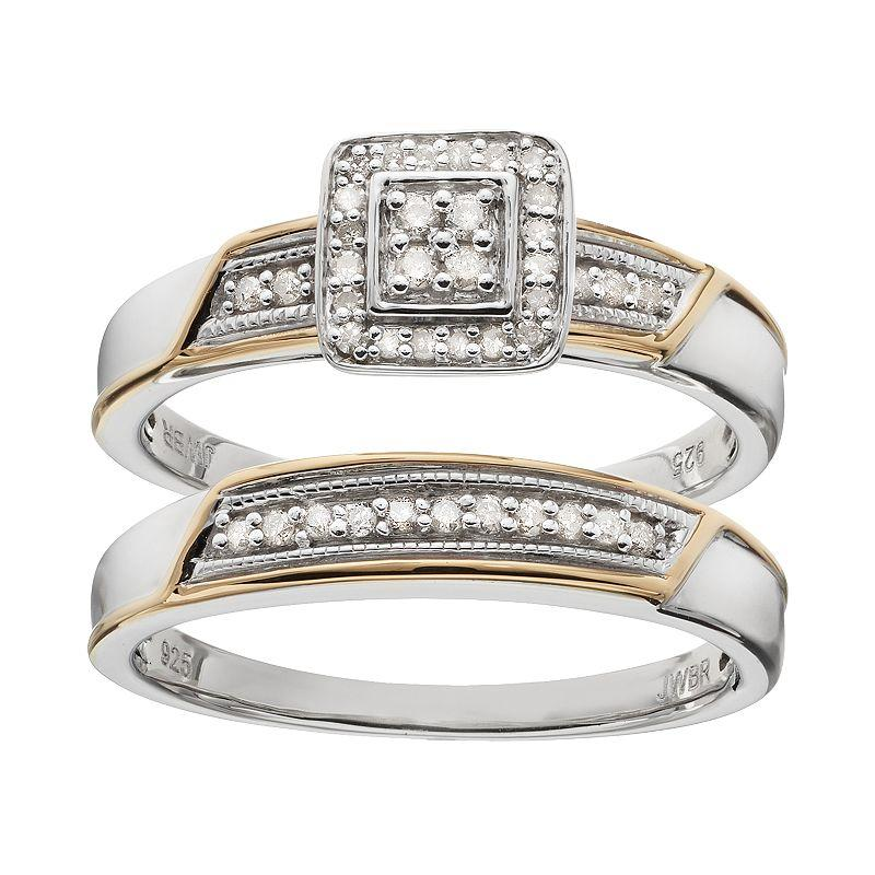 Always Yours Diamond Square Halo from Kohl's | rings