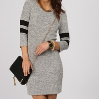 Promo-black Sporty Chic Tunic