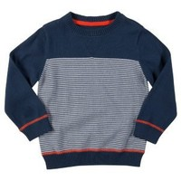 Clothing at Tesco | FF striped knitted jumper > jumpers > Younger boys (1-7years) >