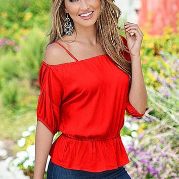 %PC% Off the shoulder peplum top from VENUS