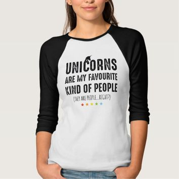 Unicorns Are My Favourite People | Funny Cute Dresses