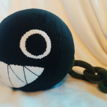 Super Mario - Chain Chomp Plush