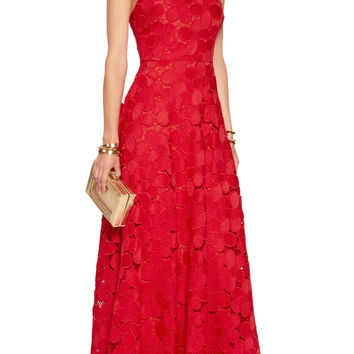 Floral-lace gown | Badgley Mischka | US | THE OUTNET
