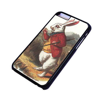 WHITE RABBIT ALICE IN WONDERLAND Disney iPhone 6 Plus Case