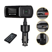 ELEGIANT Handsfree Bluetooth Car Kit FM Transmitter Modulator USB SD MP3 for Galaxy S5 S4