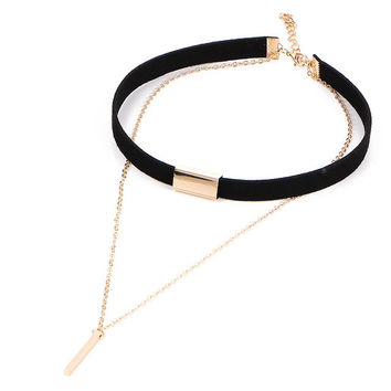 Romanti multi-layer Velvet Choker *Hollywood Style*