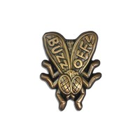 Buzz Off Fly Pin (Sculpted)