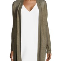Eileen Fisher - Crepe Long Cardigan