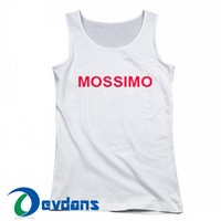 Mossimo Font Tank Top Men And Women Size S to 3XL | Mossimo Font Tank Top