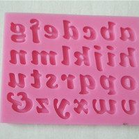 Hot Deal Easy Tools On Sale Kitchen Helper Stylish Home Cute Hot Sale Silicone Decoration Alphabet Mould [6033492609]