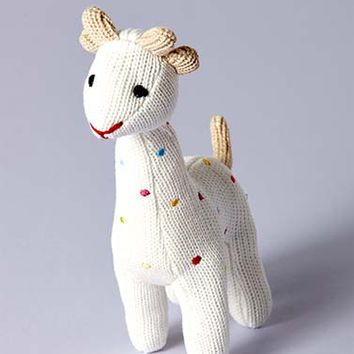 Knitted Squeaky Giraffes for Baby