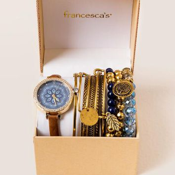 Afrah mosaic watch box set