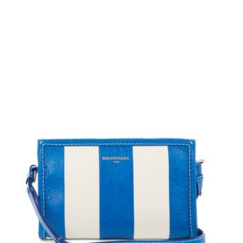 Bazar leather cross-body bag | Balenciaga | MATCHESFASHION.COM US