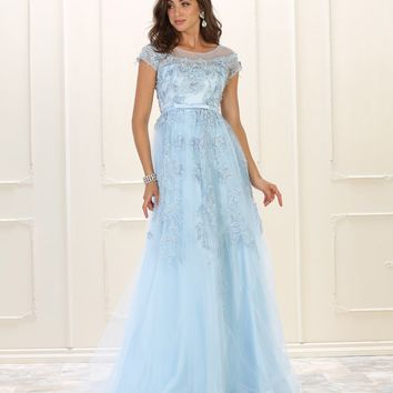 Formal Prom Dress Long Plus SIze Evening Gown