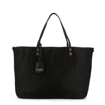 Love Moschino Women Black Shopping bags