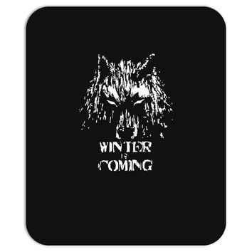 game of thrones direwolf winter is coming Mousepad