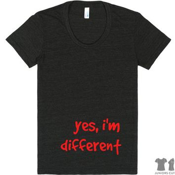 YES, I'M DIFFERENT