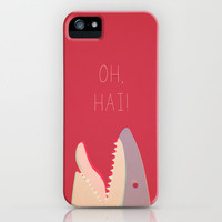 Sharky iPhone & iPod Case by Filiskun