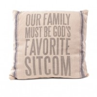 Family Sitcom Pillow by Primitives by Kathy - ShopKitson.com