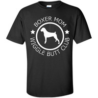 Boxer Mom wiggle butt T-Shirt