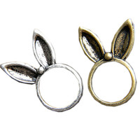 ROMWE | Rabbit Ears Ring, The Latest Street Fashion