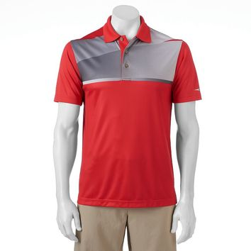 Grand Slam MotionFlow Slim-Fit Colorblock Performance Polo