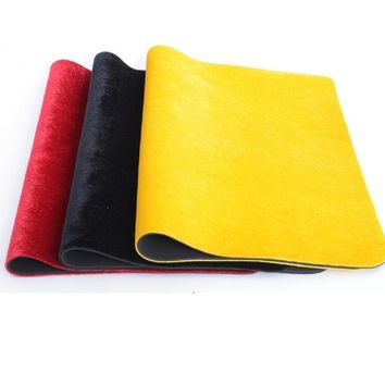 Free shipping 4 colors mat table pad fleece lined goods flannel magic tool poker coin playmat board game playmats magician tools
