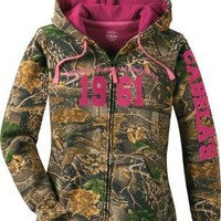 Cabela's: Cabela's Women's Varsity Full-Zip Hooded Print Sweatshirt