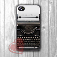 Once Upon A Time Typewriter -5ho for iPhone 4/4S/5/5S/5C/6/ 6+,samsung S3/S4/S5,samsung note 3/4