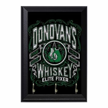 Donovans Whiskey Decorative Wall Plaque Key Holder Hanger