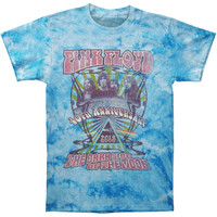 Pink Floyd Men's  40th Anniversary Photo Tie Dye T-shirt Multi Rockabilia