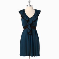 avett dress in prussian blue - $33.99 : ShopRuche.com, Vintage Inspired Clothing, Affordable Clothes, Eco friendly Fashion