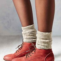 BDG Lace-Up Leather Ankle Boot
