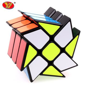 New YongJun Hot Wheel Three Layers Professional Magic Cube Puzzle Educational Classic Toys Gifts For Children
