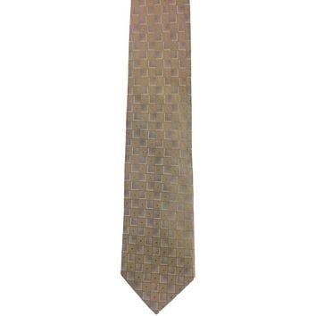Pierre Cardin Checkered Narrow Hand Made Silk Tie - Multicolor
